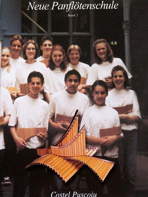 Neue Panflötenschule Band 2 mit CD von Costel Puscoiu
