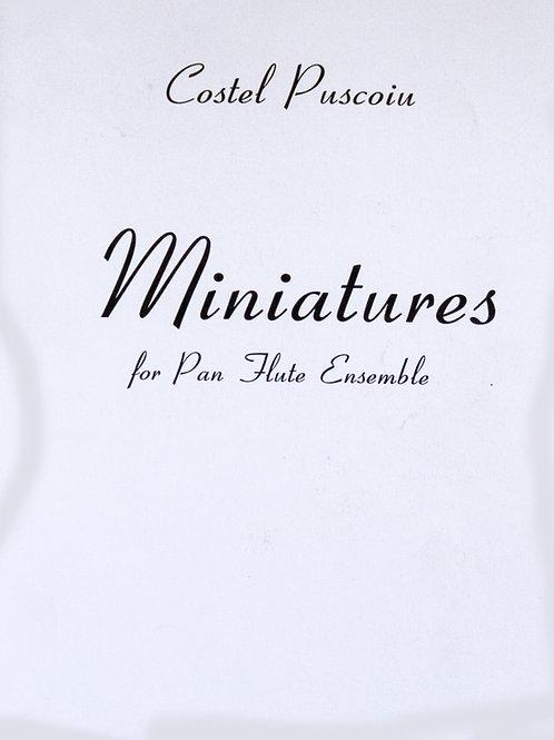 Miniatures von Costel Puscoiu