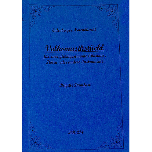 Eidenberger Notenbüachl BD-214 von Brigitte Dumfart