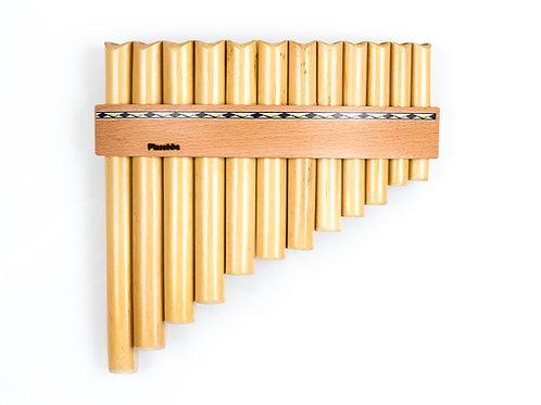 Panflöte R12-Töne/Rohre in C-Dur & G-Dur aus Bambus | Plaschke Instruments