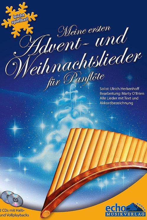 Meine ersten Advent und Weihnachtslieder für Panflöte & CD von Ulrich Herkenhoff