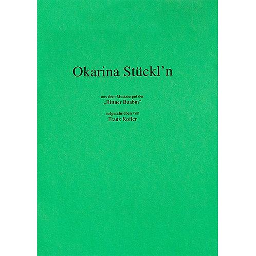 Okarina Stückl`n Heft 1 von Kofler Franz