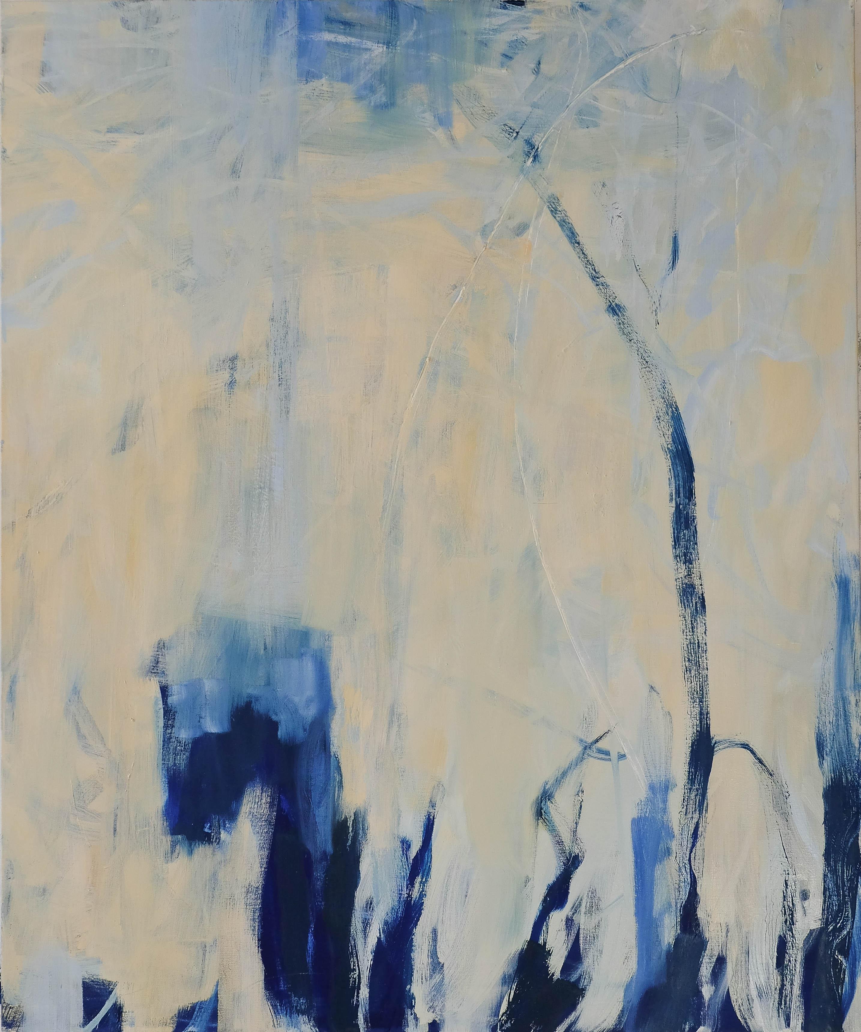 LE MATIN huile sur toile 120cmx100cm