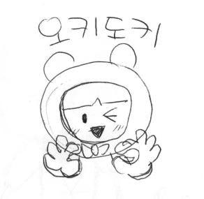 네이버밴드_이모티콘_피니미코_컨셉스케치본_01