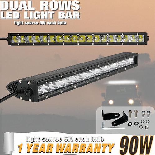 LED Lightbar 90w Single Row