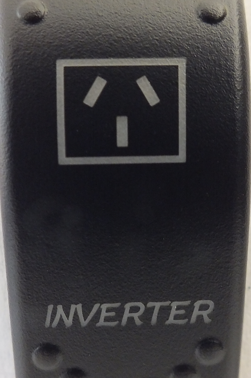 Inverter Laser Etched Rocker Switch