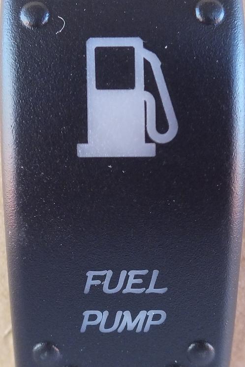 Fuel Pump Laser Etched Rocker Switch