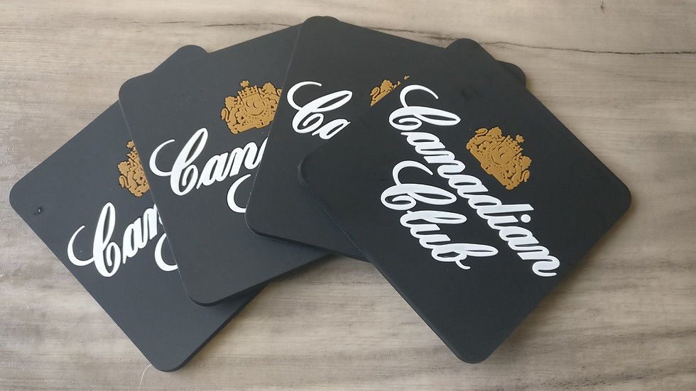 Canadian Club Coaster set of 4