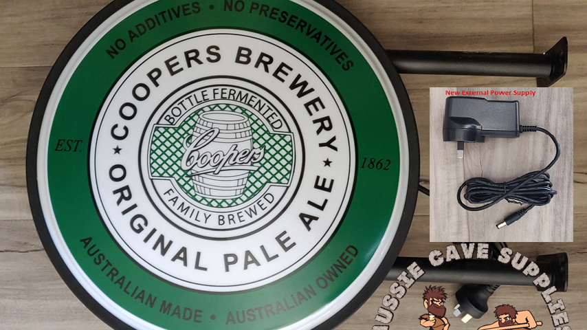 Coopers pale ale Lightbox