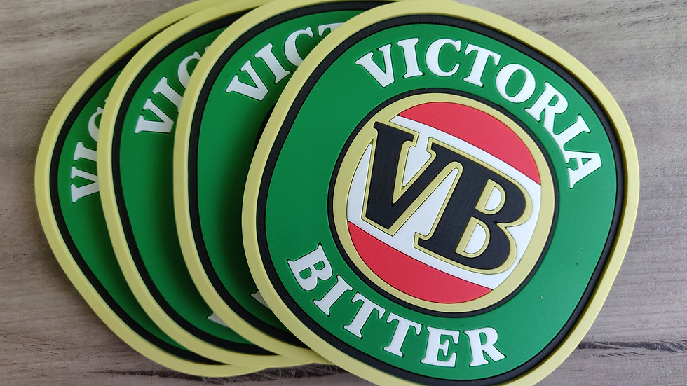 Victoria Bitter coasters set of 4