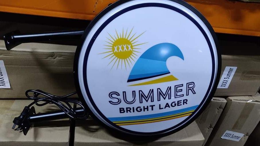 XXXX Summer Bright