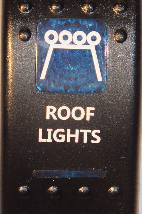 ROOF LIGHTS Rocker Switch