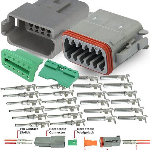 Deutsch 12 pin Connector Pair