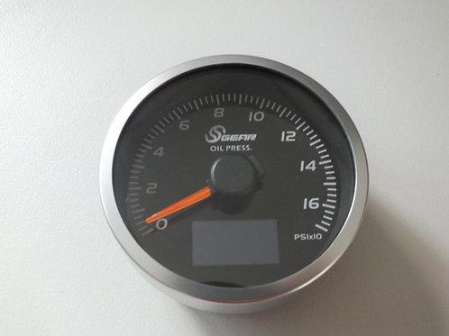 Crenate Sgear 60mm Oil Pressure, temp, voltmeter