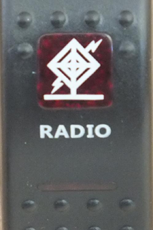 RADIO Rocker Switch