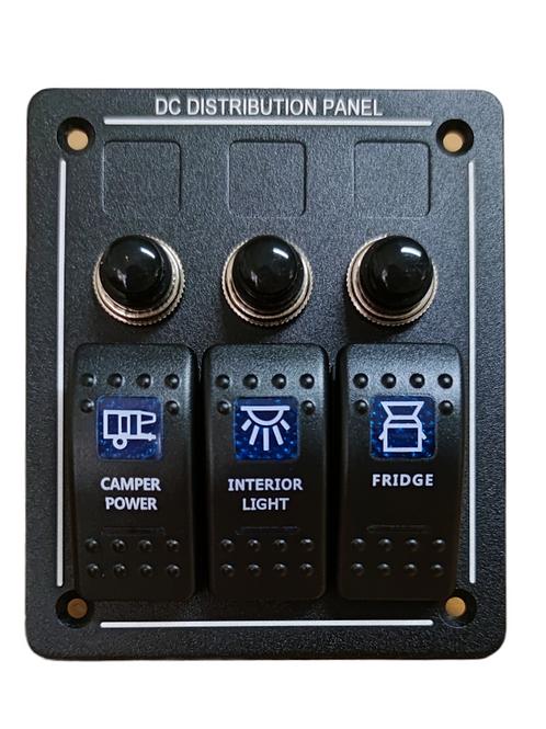 3 Switch Panel