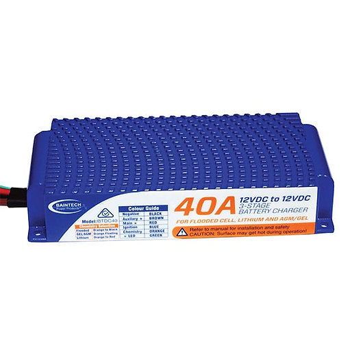 40A DC-DC 3-STAGE BATTERY CHARGER