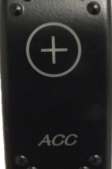 ACC Laser Etched Rocker Switch