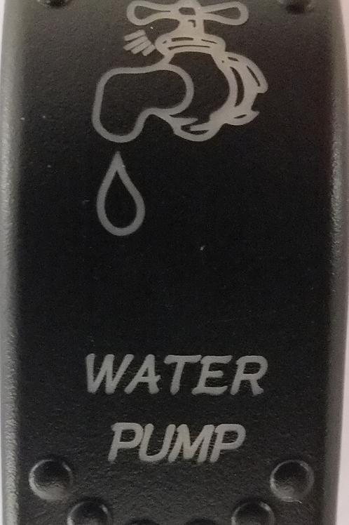 Water Pump Laser Etched Rocker Switch