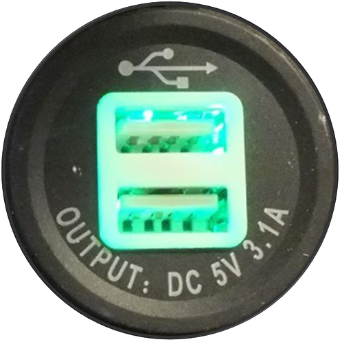 3.1 amp Double USB Socket