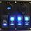 Thumbnail: 4 Switch  2 socket Panel Dual Volt/USB
