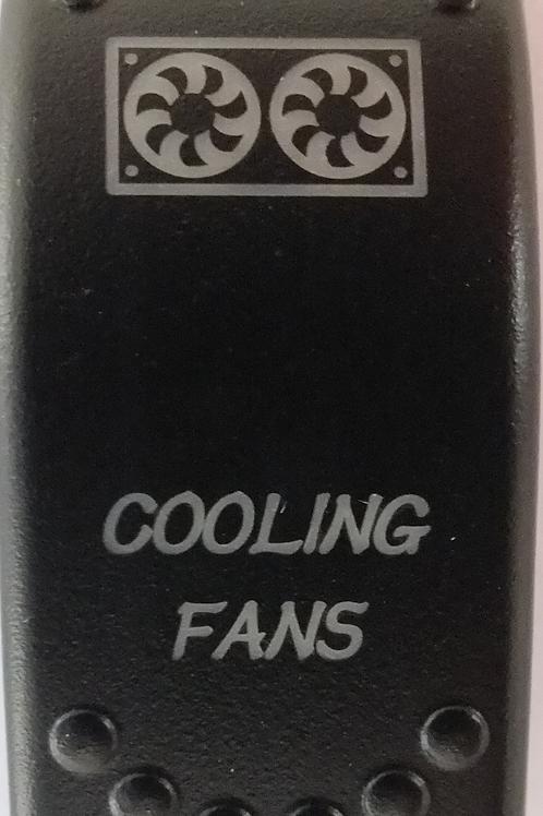 Cooling Fans Laser Etched Rocker Switch