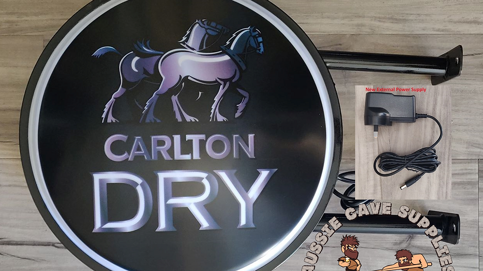 Carlton Dry Lightbox