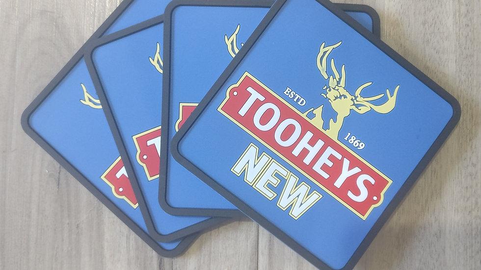 Tooheys New coasters set of 4
