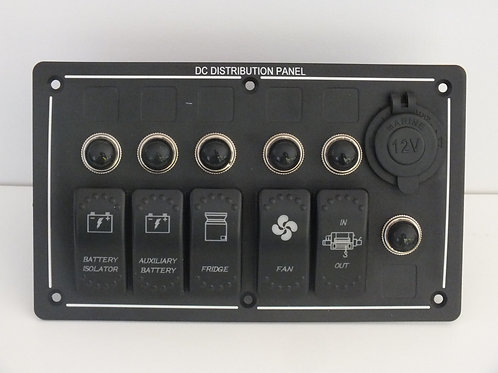 5 Switch with Socket