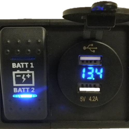 Dual Voltmeter different types