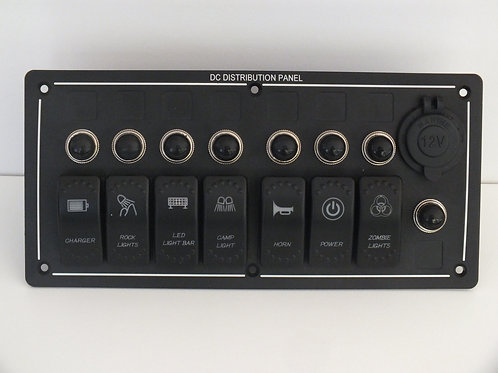 7 Switch with Socket or Voltmeter