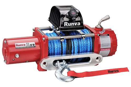 Runva 11XP Winch-steel cable. Select down box to change to dyneema