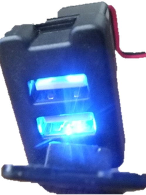 Toyota Double USB Socket