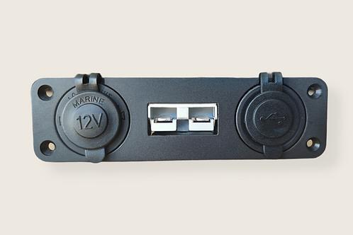 50A Single Anderson plug with 12v and USB