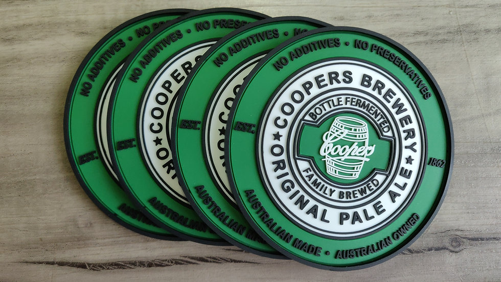 Coopers coasters set of 4