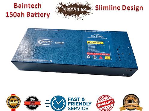 Baintech 150ah Slimline Battery