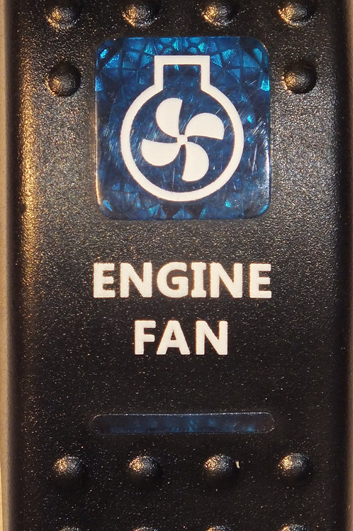 ENGINE FAN Rocker Switch