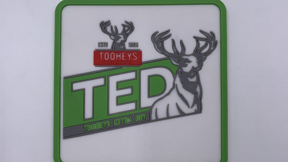 Tooheys Extra Dry TED coasters set of 4