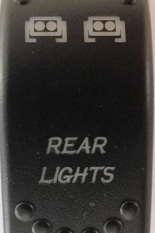 Rear Lights Laser Etched Rocker Switch