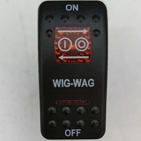 Wig Wag Rocker Switch
