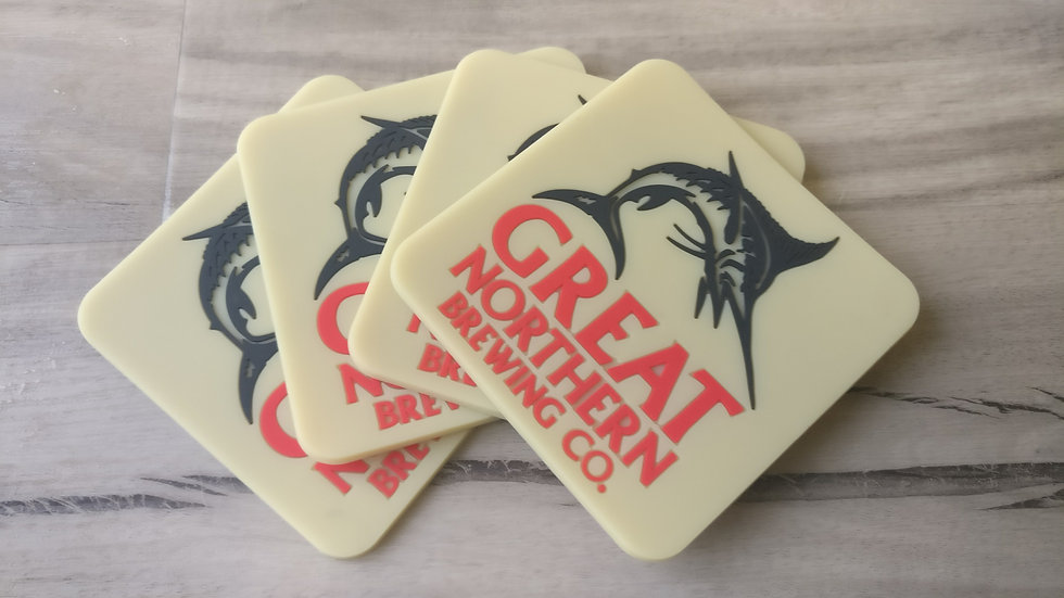 Great Northern Coaster set of 4