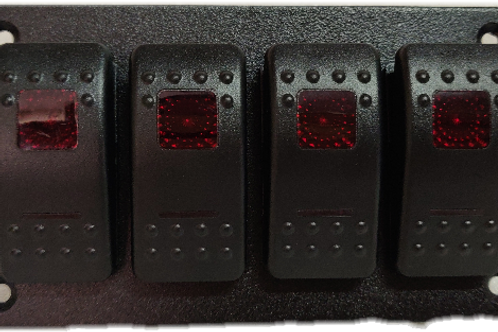 4 switch panel