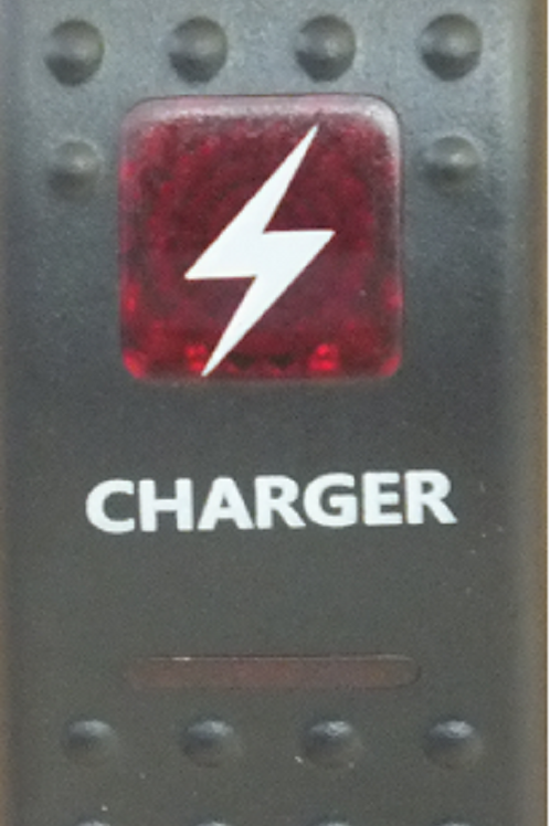 CHARGER Rocker Switch