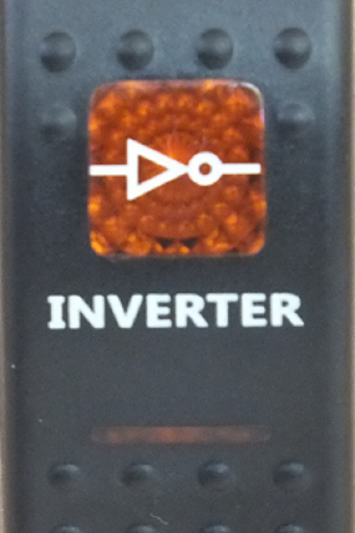 INVERTER Rocker Switch