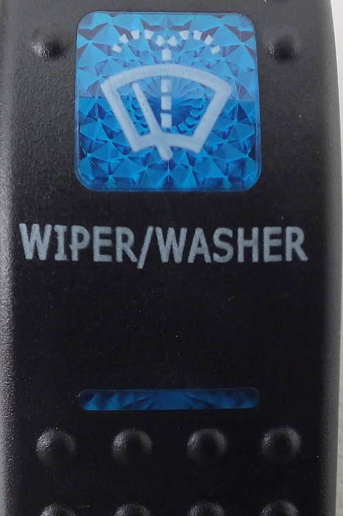 Washer/wiper rocker switch