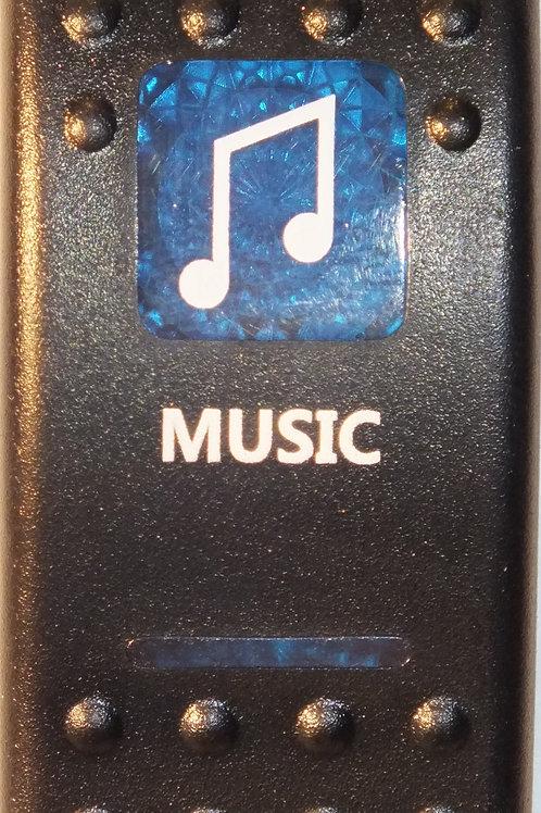 MUSIC Rocker Switch