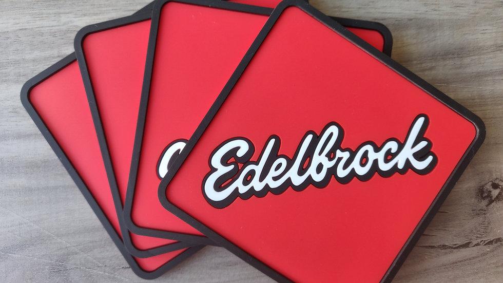 Edelbrock Coaster set of 4