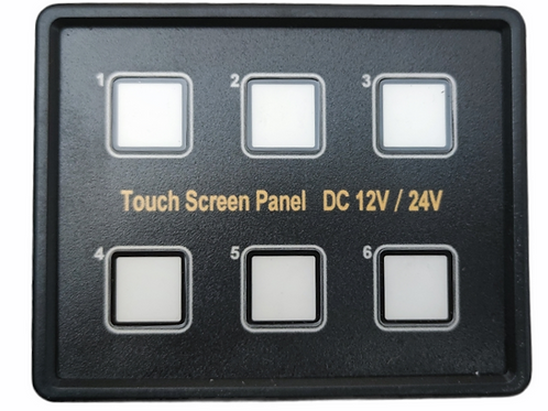 Touch screen Panel- 6 Way