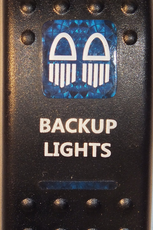 BACKUP LIGHTS Rocker Switch