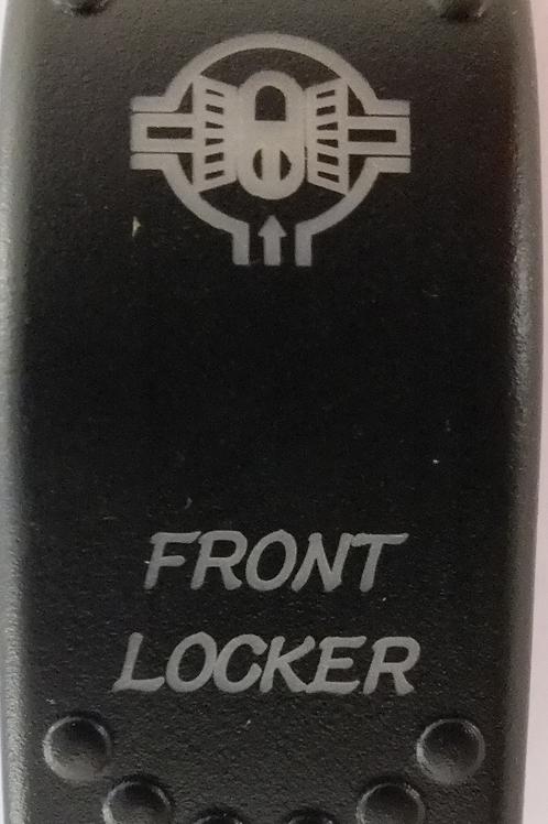 Front Locker Laser Etched Rocker Switch